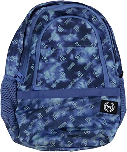 Victorias Secret PINK Collegiate Backpack 2019 Edition Blue Tie Dye