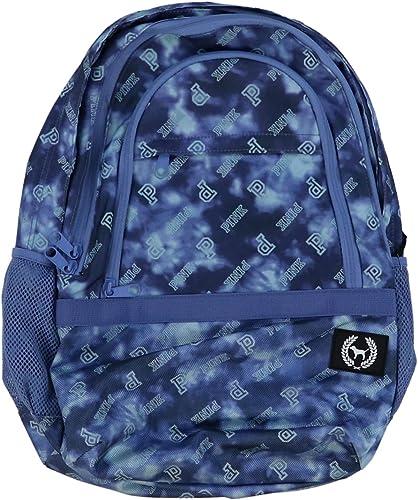 Victorias Secret PINK Collegiate Backpack 2019 Edition Blue Tie Dye