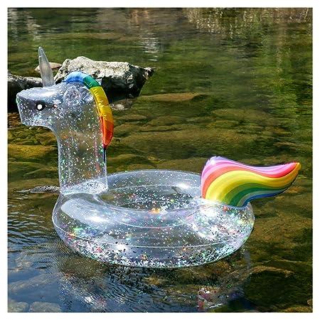 WYJHNL Flotador Unicornio Anillo de Natación con ...