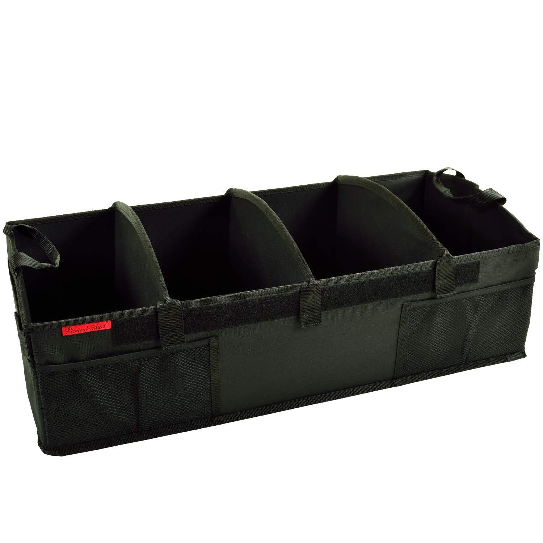 Picnic at Ascot - Ultimate Heavy Duty Trunk Organizer - No Slide Rigid Base -70 LB Capacity - 30'' wide x 14.75'' deep x 9'' high
