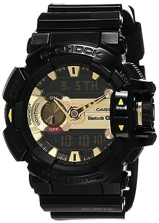 reputable site 43ff7 61161 Casio G-Shock Analog-Digital Black Dial Men's Watch - GBA-400-1A9DR (G557)