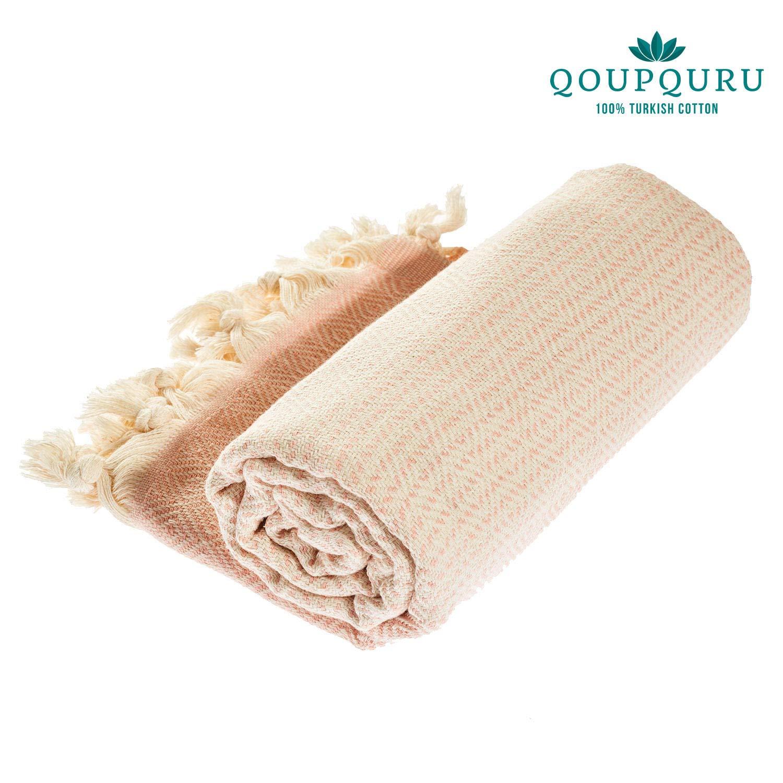 Oversized 40X70 Vintage Collection Light Weight 100/% Turkish Cotton Absorbent /& Easy Dry Red 2 Pack Peshtemal Towel Set QoupQuru Turkish Bath Towels