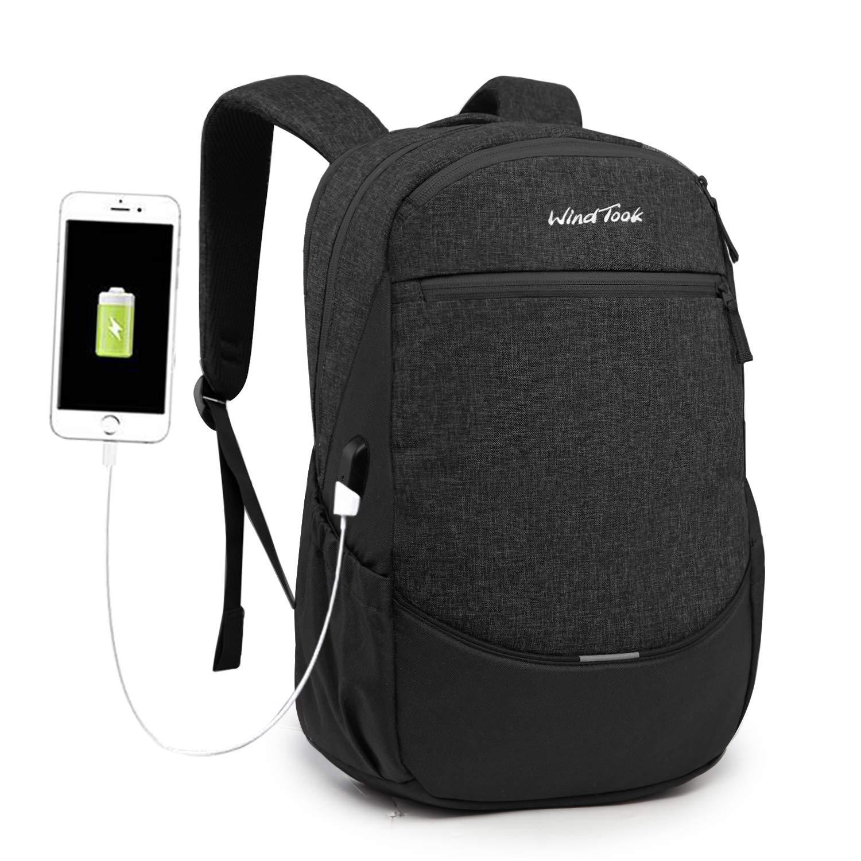 Rot Wind Took Rucksack Herren 15.6 Zoll Notebook Laptop Rucksack Daypack Schulrucksack Uni//Schule//Business