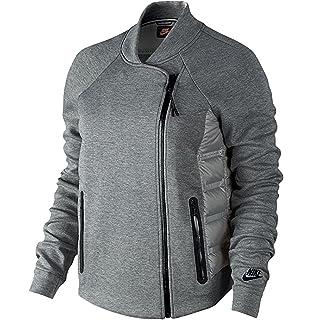 f6241826873e Amazon.com  NIKE Youth Girls Sportswear Tech Fleece Aeroloft Jacket ...