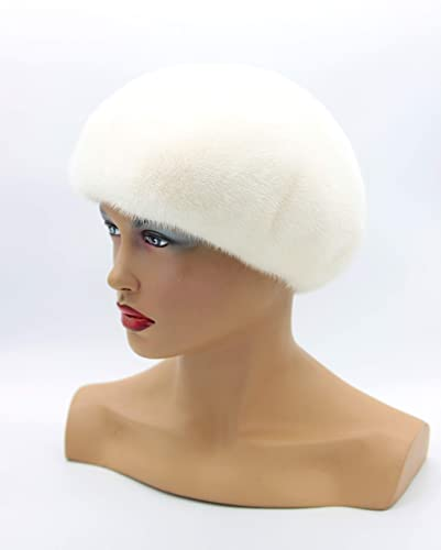 ebb8d09780ec5 Image Unavailable. Image not available for. Color  Winter mink beret