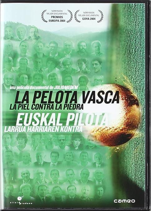 La Pelota Vasca [DVD]: Amazon.es: Bernardo Atxaga; Iñaki Gabilondo ...