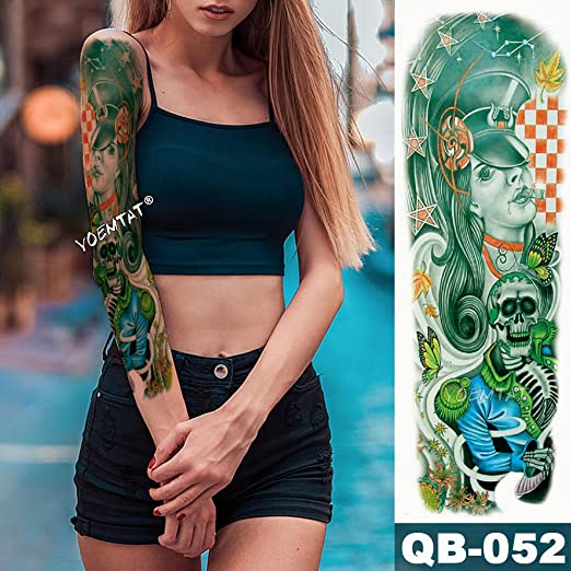 tzxdbh Nueva Etiqueta engomada Temporal del Tatuaje música Estilo ...
