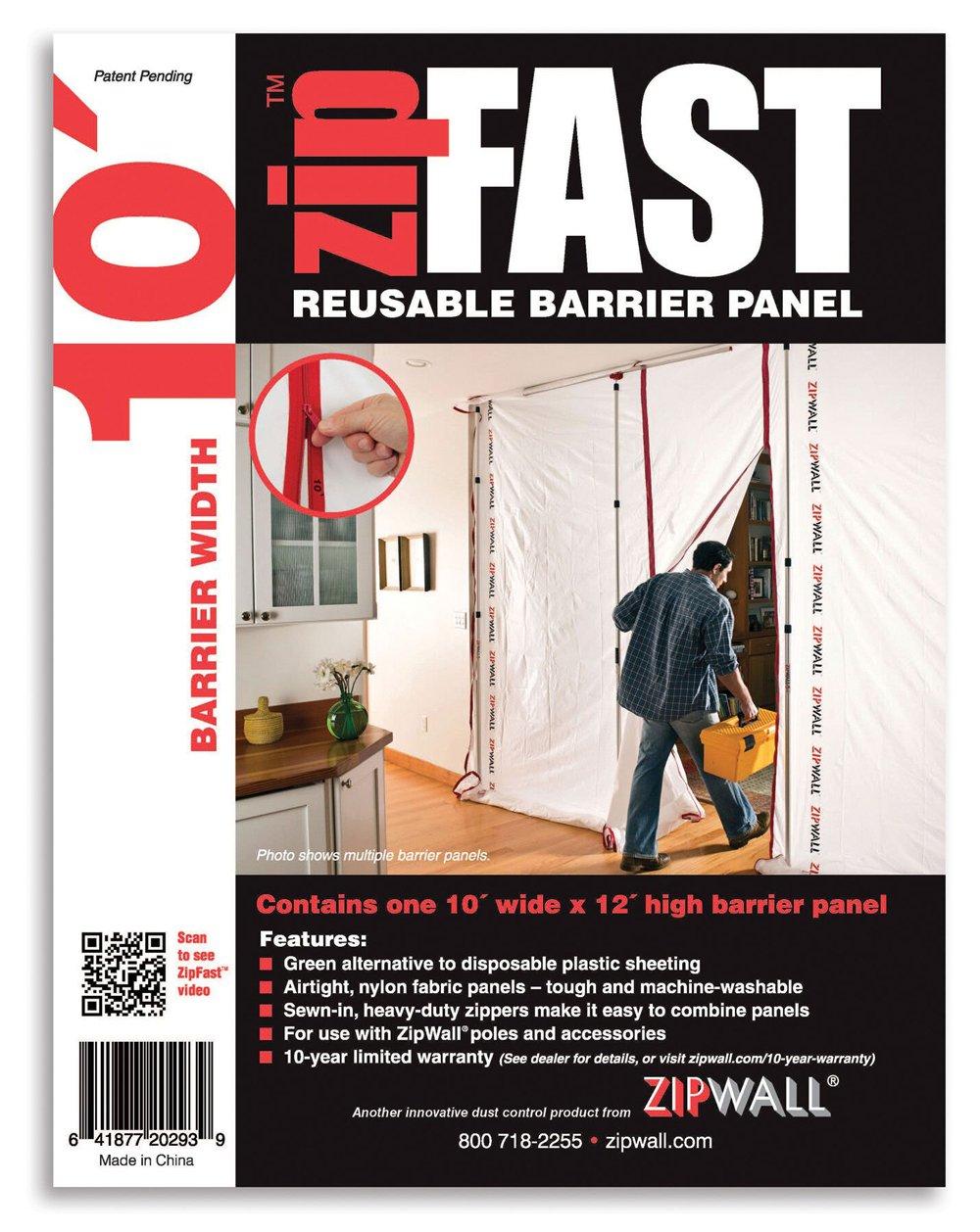 ZipWall ZipFast Reusable Barrier