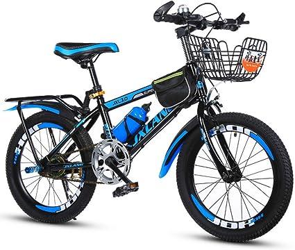 Kids Bike 16 Inch Unisex Children Boys Girls Cycling Bicycle-Blue W//Stabilizer
