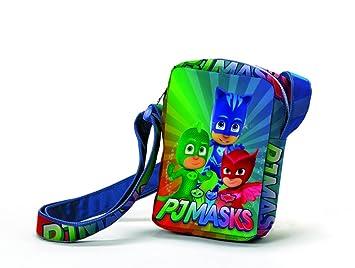 CORIEX PJ Máscaras Pijama Héroes a95764 Hombro, poliéster, Multicolor, Catboy, eulette,
