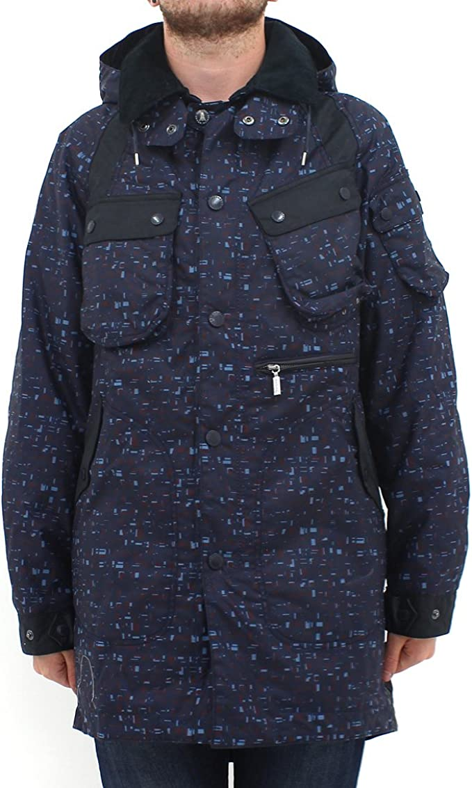 Barbour X White Mountain brundazuma Wax Azul Marino 083928004