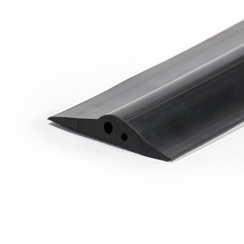 Joint de porte de garage 115mm 5 metre avec de la 2x colle de montage Seuil EPDM DQ-PP