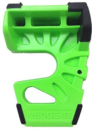 Wedge-It The Ultimate Door Stop Green 12 Pack