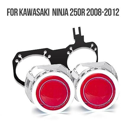 KT HID proyector Kit HP25 para Kawasaki Ninja 250R 2008 ...