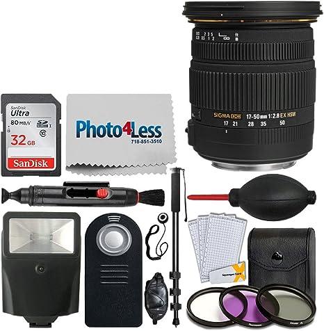 Sigma 17 – 50 mm f/2.8 EX DC OS HSM objetivo zoom para Canon ...