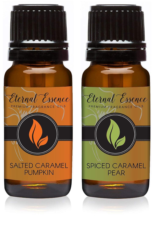 Pair (2) - Salted Caramel Pumpkin & Spiced Caramel Pear - Premium Fragrance Oil Pair - 10ML