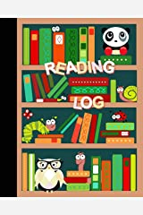 "Reading Log: Gifts for Young Book Lovers / Reading Journal [ Softback * Large (8"" x 10"") * Child-friendly Layout * 100 Spacious Record Pages & More... ] (Kids Reading Logs & Journals) Paperback"