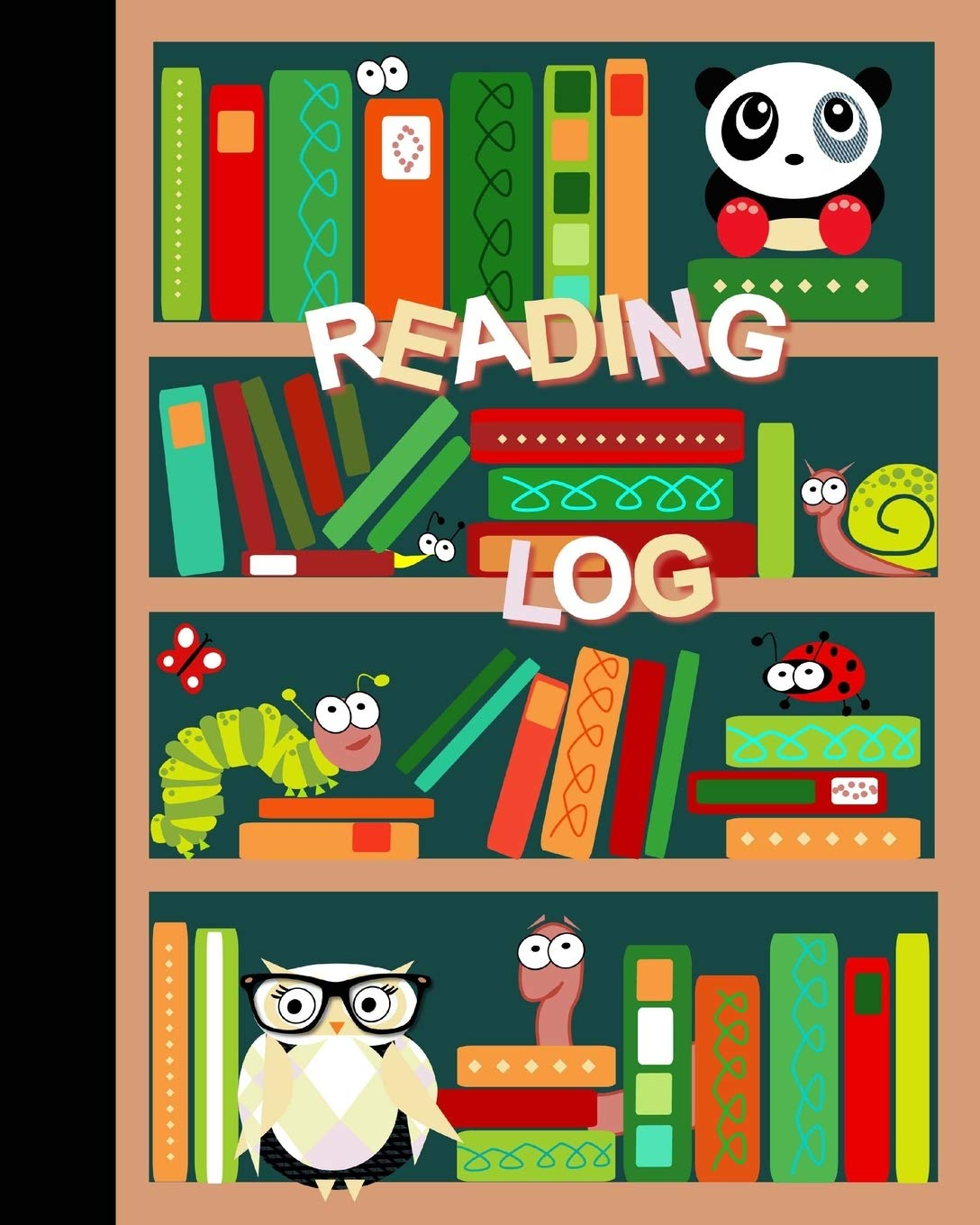 """Reading Log: Gifts for Young Book Lovers / Reading Journal [ Softback *  Large (8"""" x 10"""") * Child-friendly Layout * 100 Spacious Record Pages &  More... ] (Kids Reading Logs &"""