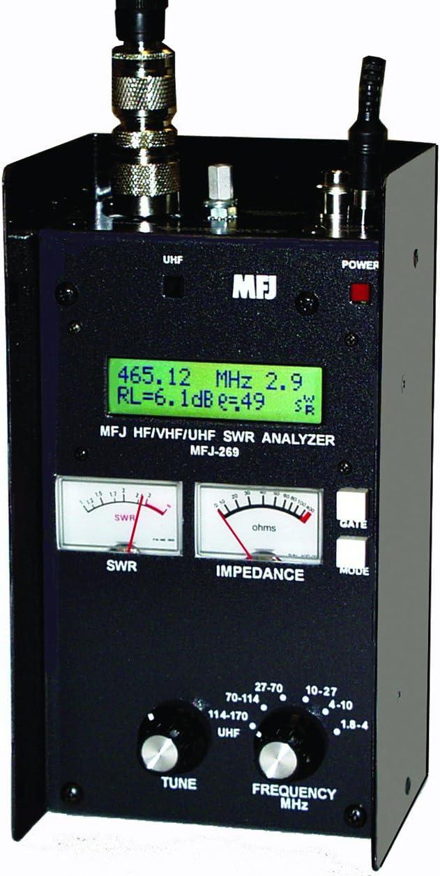 mfj-269pro Digital antena analizador: Amazon.es: Electrónica