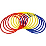 PRECISION TRAINING Speed Agility Hula Hoops