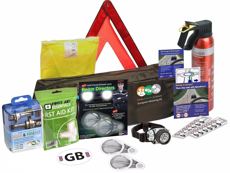 European Travel Kit For Driving In Europe Fresnel Lens Family Motoring & Leisure