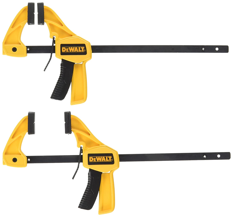 DEWALT DWHT83148 4.5 Inch Small Trigger Clamp 2 Pk
