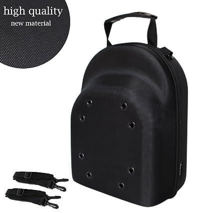 d332c959f26 Galexbit Baseball Hat case Cap Carrier Case Holder for 3 Caps Hat Bag for  Travel(