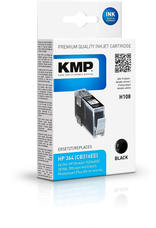 KMP H108 Negro cartucho de tinta - Cartucho de tinta para ...
