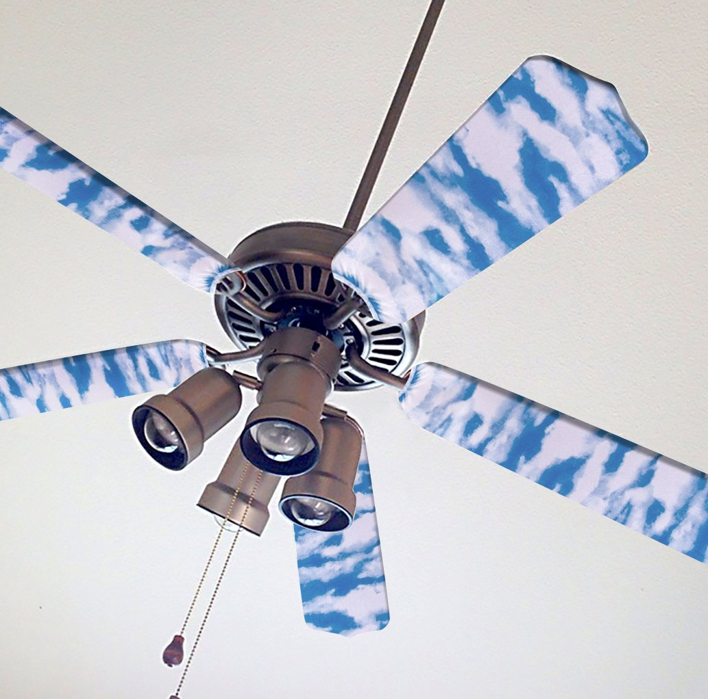 Fancy Blade Ceiling Fan Accesories Blade Cover Decoration, Clouds