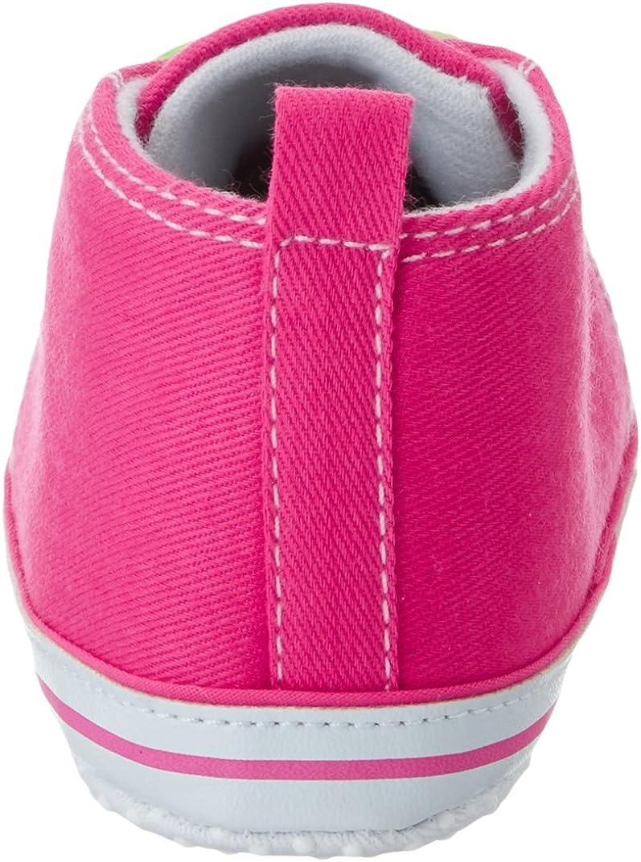 Bimbi 0-24 Playshoes Sneaker per Neonato-Neon Scarpe da Ginnastica Unisex
