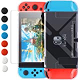 Dockable Case Compatible with Nintendo Switch, FYOUNG Protective Accessories Cover Case for Nintendo Switch and Joy-Con…