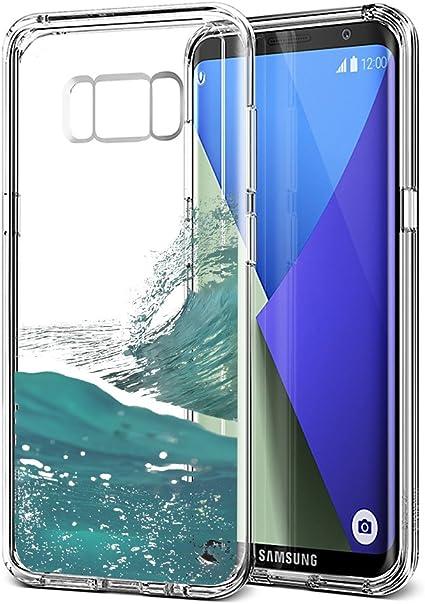 Eouine Funda Samsung Galaxy S8 Plus, Cárcasa Silicona 3D ...
