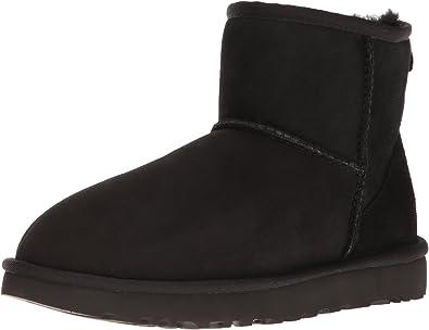 UGG Damen Mini Classic Hohe Sneakers, schwarz BLK 36 EU
