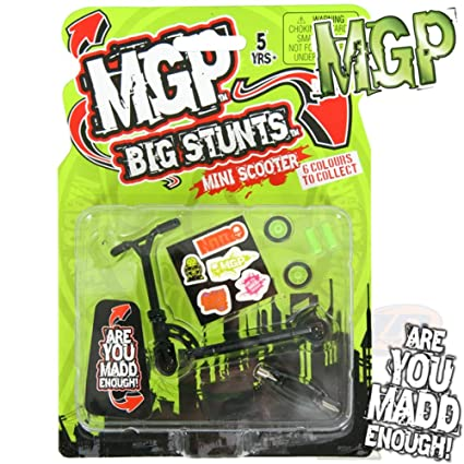Amazon.com: MADD Gear MGP Big y acrobacias patinete de dedos ...