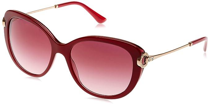 Bulgari 0Bv8194B 54328H 57 Gafas de Sol, Rojo (Burdy/Pink ...