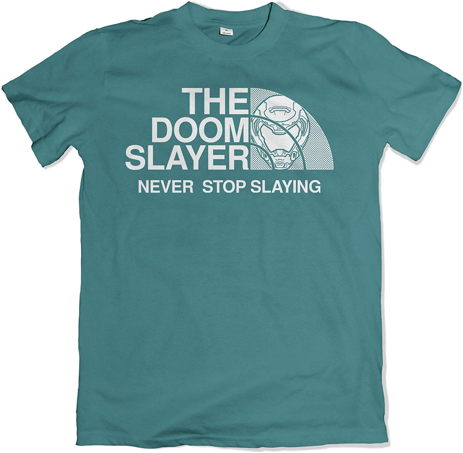 Teamzad The Doom Slayer Never Stop Slaying Gaming T Shirt