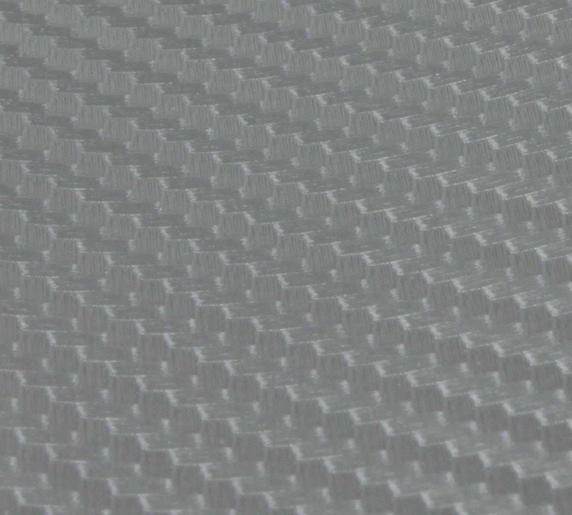 3D Carbon Folie mit fü hlbarer Struktur 152cm x 100cm // Silber mit Luftkanä len // Stä rke (0, 19-0, 22mm) von Avadoo avadoo®
