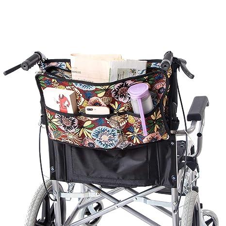 QEES GJB169 - Bolsa para silla de ruedas, resistente ...