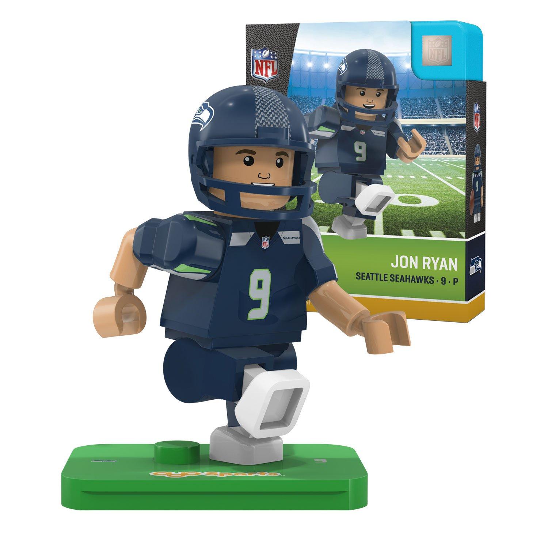 Jon Ryan NFL OYO Seattle Seahawks Generation 4 G4 Mini Figure