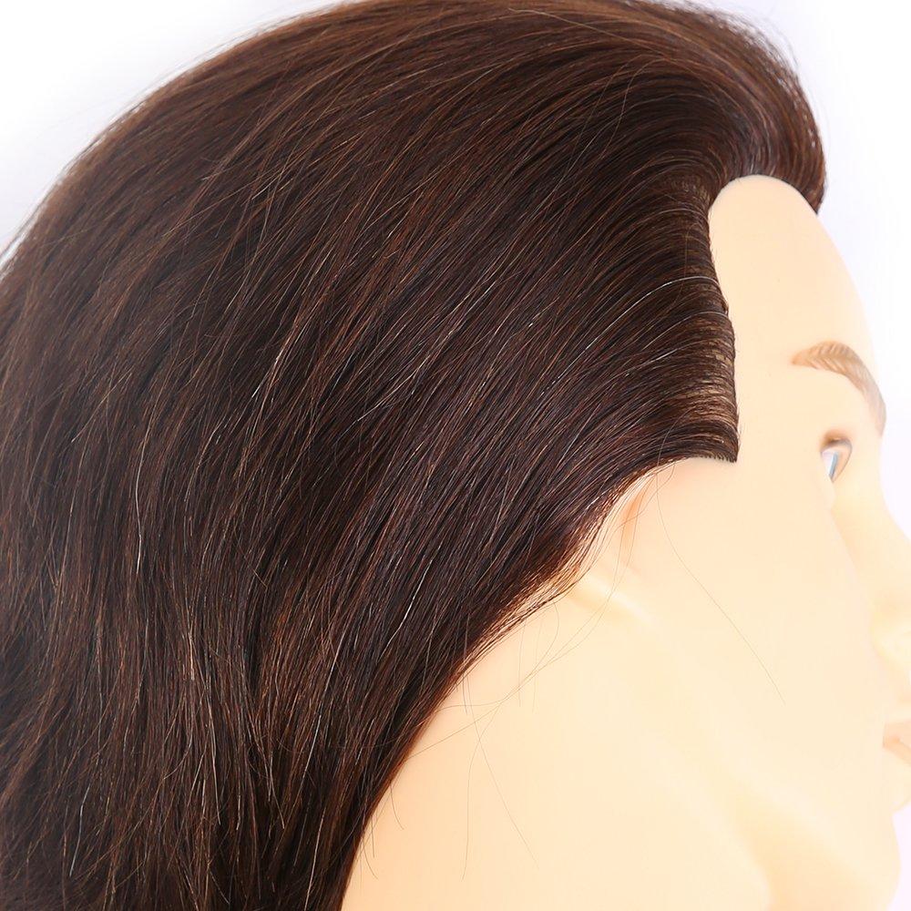 Amazon Hairealm Male Mannequin Head 100 Human Hair