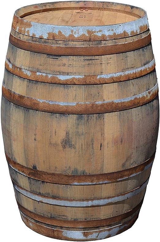 Barril mesa en madera de roble con 225 litros, rústico (con ...