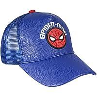 Cerdá 8427934353163 Gorra Premium Spiderman, Azul, 53 Unisex niños