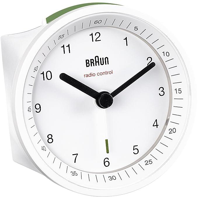 96 opinioni per Braun BNC 007 Sveglia radiocontrollata bianco