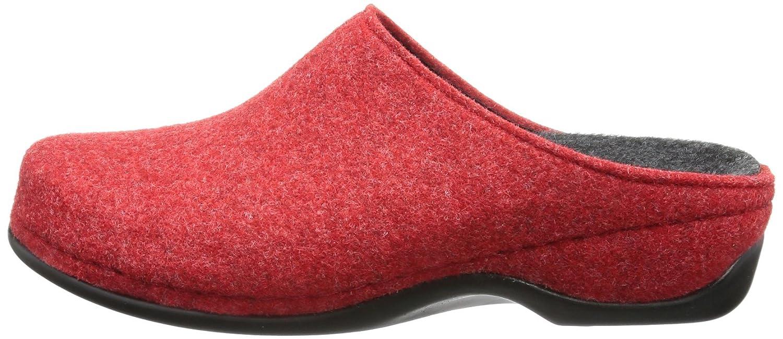 Berkemann Florina, Pantoufles femme - Rouge - Rot (rot 235), 38 EU