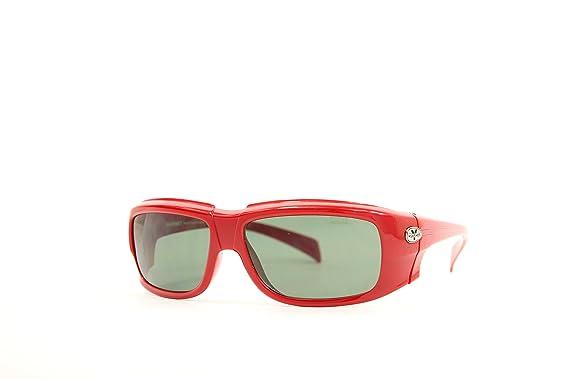 Vuarnet Unisex-Erwachsene Sonnenbrille VL-1120-P006-1721, Rot (Red), 58