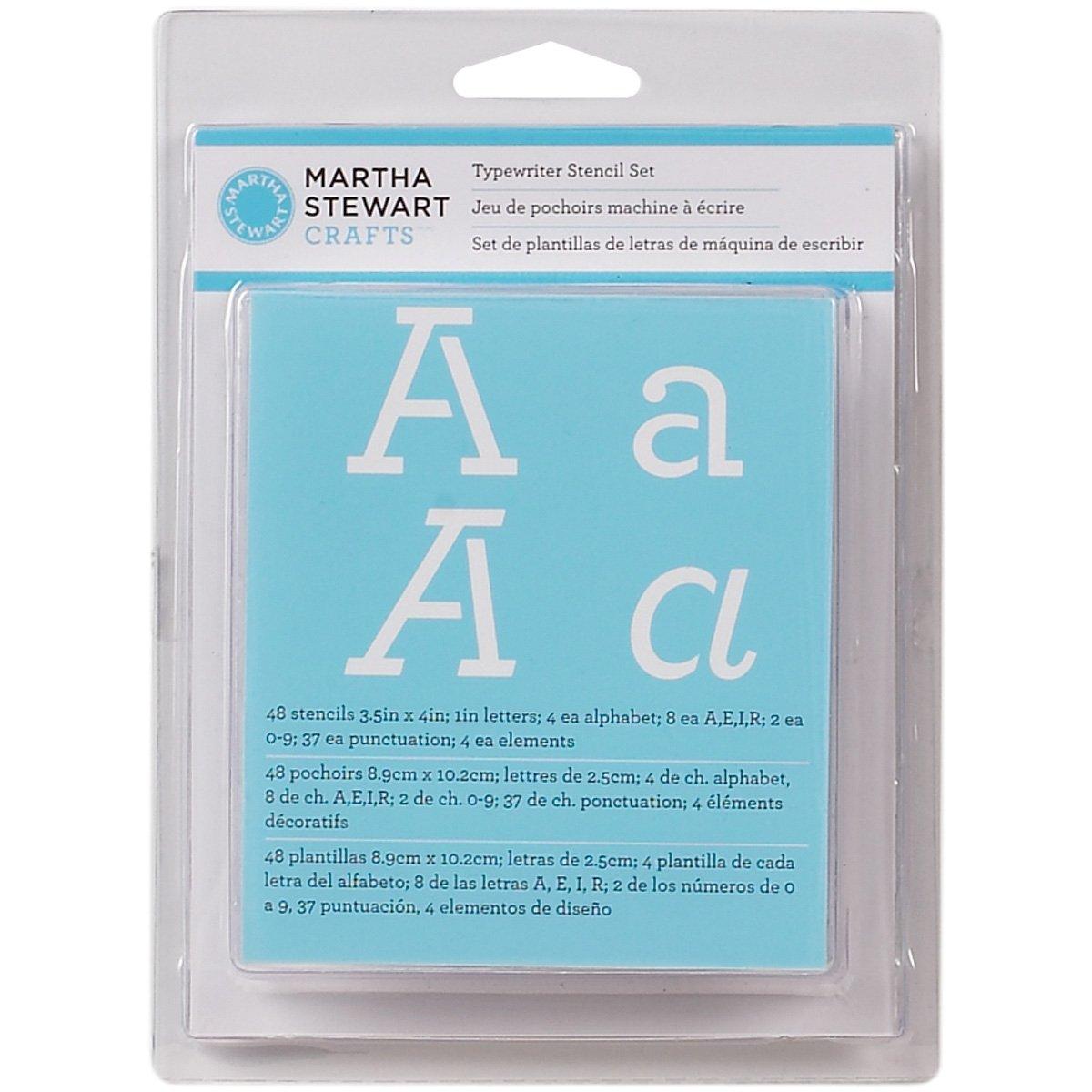 Amazon martha stewart crafts alphabet stencil 32272 typewriter spiritdancerdesigns Choice Image