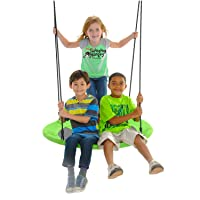 Deals on Swinging Monkey Products Giant 40-in Saucer Nest Tree Swing