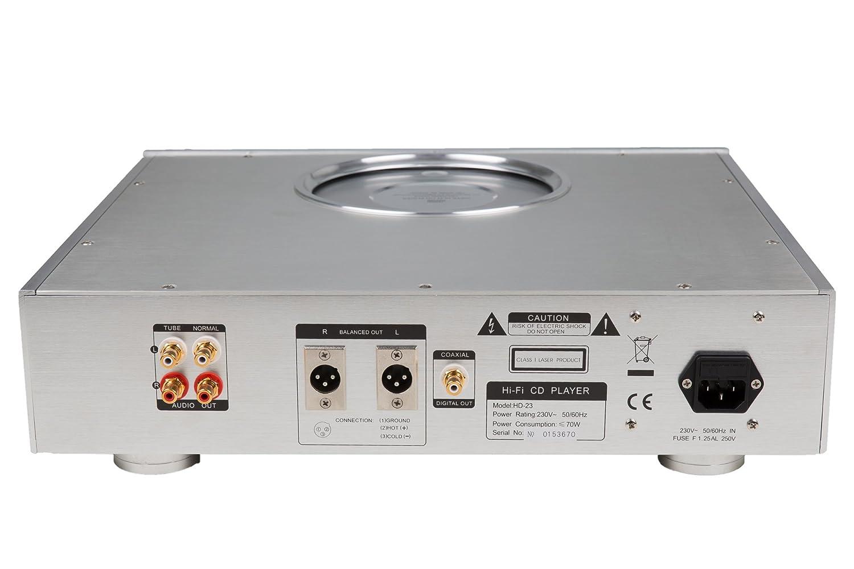 Destiny hd high end cd spieler farbe silber amazon audio hifi