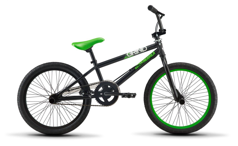 Diamondback Bicycles Grind BMX Bike, Matte Black, One Size