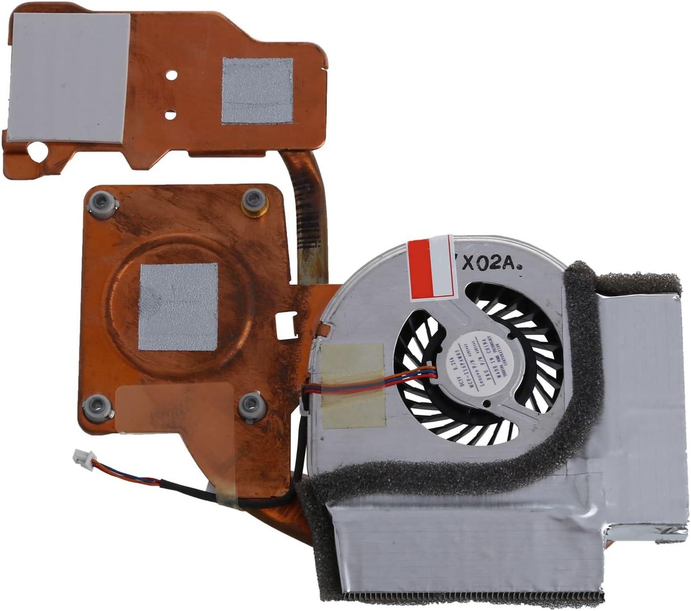 Vaorwne CPU Fan Cooler Heatsink CPU Cooler for ThinkPad T61 T61p